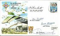 Arnhem Escape De Ontsnapping Uit De Slag Om Arnhem Flown Signed Cover AY2131