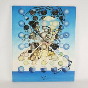 "Salvador Dali Galatea Of The Sphere 1952 Canvas 24"" x 20"""