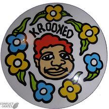"""Krooked """"Pantaloni Della Tuta"""" Skateboard Snowboard Adesivi 14cm Medio Gonz Gonzalez"""