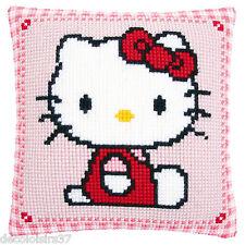 Vervaco 0147565 Hello Kitty Cuscino punto croce su tela grossa telaio