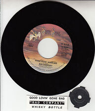 "BAD COMPANY  Good Lovin' Gone Bad 7"" 45 record + juke box title strip NEW RARE!"