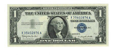 1957 B  $1 Federal Reserve  Note Uncirculated SILVER CERTIFICATES BLUE SEAL
