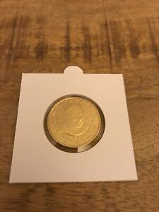 Rare 50 cents Vatican 2007 Pape Benoit XVI venant du coffret BU