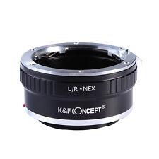 Leica R L/R LR Mount Lens to Sony E NEX Adapter NEX-5R 5T 6 7 A7 A7R A3000 A5000
