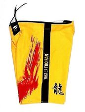 Punch Town Shorts Mens Size 38 Mma Fighting Sparing Kick Boxing Yellow (M)