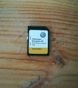 SD Card Volkswagen Navigation AS AUSTRALIA NZL SOUTH AFRICA 2021 DiscoverMedia 2