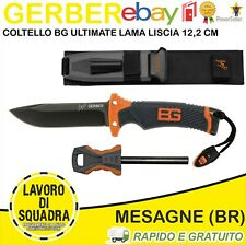 COLTELLO BG ULTIMATE LAMA LISCIA 12,2 CM BEAR GRYLLS MILITARIA GERBER