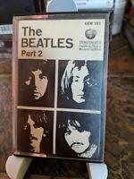 The Beatles Part 2 Cassette Blue Spine Capitol 4XW 161 Splendid!