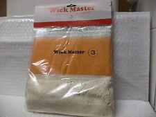 Wick Master #3  Kerosene Heater Wick.... New