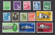 Nigeria 1961 Definitive Set of 13 to £1 Mint Never Hinged