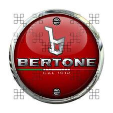#505 BERTONE BADGE  Ø 9,5 cm RUND AUFKLEBER STICKER AUTOCOLLANT ITALIAN ICON