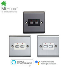 Energenie MiHome Smart 6mm Double Light Switch
