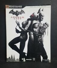 BATMAN ARKHAM CITY BRADYGAMES OFFICIAL STRATEGY GAME GUIDE