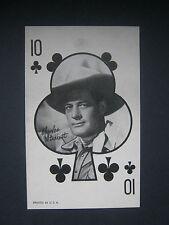 Charles Starrett- Western Vintage 1950's Exhibit, Marketing, Penny Card