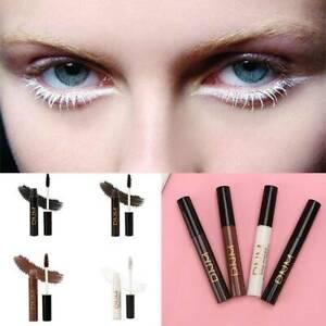 Color Mascara Waterproof Fast Dry Eyelashes Curling Lengthening Makeup 4 Colors