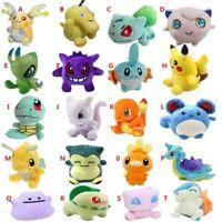 20 Styles Plush Toy 12-18cm Peluche Pikachu  Snorlax Charmander Mewtwo Dragonite