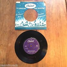 "TOMMY COLLINS - WRECK OF THE OLD 97 - UK 7"" VINYL - CAPITOL - 45-CL 15118 - 1959"
