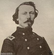 """American Civil War Union Army General Colonel Patrick E Burke 5x5"""" Reprint Photo"""