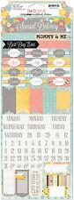 BoBunny BABY BUMP Cardstock Stickers scrapbooking PREGNANCY