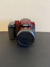 Nikon Coolpix P610 16.0 MP Digital SLR Camera - Red