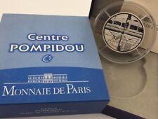 France 2010 Centre Pompidou 50 euro € Silver Proof 5 Oz - Frankreich Silber