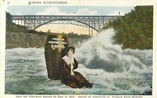 Martha Wagenfuhrer - Shot the Whirlpool Rapids, Niagara Falls, New York Postcard