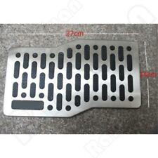 Stainless Car Floor Carpet Mats Patch Non-slip Heel Plate Foot Rest Pedal Pad