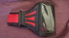 Sports Running Jogging Gym Phone Armband Case Strap Red/Black Samsung Galaxy S2