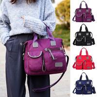 Waterproof Women Lady Nylon Large Shoulder Messenger Bag Capacity Crossbody Bags