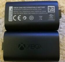 OFFICIAL MICROSOFT XBOX ONE  PLAY AND CHARGE 2 X RECHARGEABLE BATTERIES ONLY