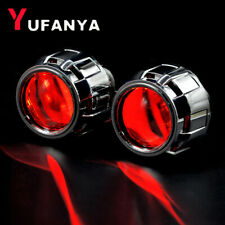 2.5'' H1 Bi xenon HID Projector Lens Devil Eyes fit H4 H7 Car Headlight Retrofit
