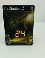 24 The Game Steelbook ORIGINAL Playstation 2 Spiel PS 2 mit OVP, CIB