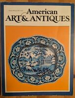 American Art & Antiques Jan-Feb 1979 Chippendale Tabor House Free Shipping