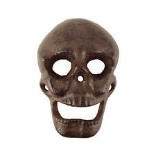Metal Wall Mount Skeleton Skull Beer Cap/Soda Pop Top Bottle Opener Bar/Pub Tool