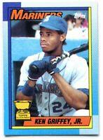 1990 Topps Bloody Scar Scab Error 336 Ken Griffey Jr. Rookie Cup