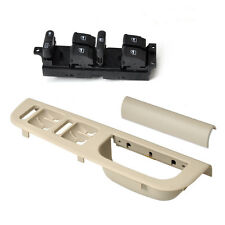 Beige 3B0867176 Window Master Switch Panel Bezel Trim for Passat Jetta Golf