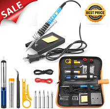 Precision Soldering Gun Micro Pen Kit Small Heavy Duty Electrical Rosin Sterling