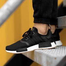 Adidas Originals NMD R1 Men's Athletic Running Shoe Boost Sneaker Black Trainers