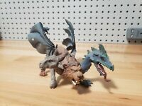 "2008 Chimera Mythical Realms 7.5"" Action Figure Safari Ltd Toy Dragon Lion Goat"