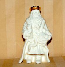 "Lenox Santa Claus Figurine Ivory With Gold Trim 5"""