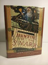 ANNOTATED HUNTING OF THE SNARK  LEWIS CARROLL  FIRST DEFINITIVE EDITION  1ST/1ST