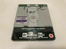 BREAKING BAD COMPLETE SECOND SEASON (2) - UK RELEASE - BRAND NEW SEALED