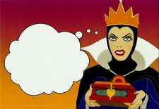 WICKED QUEEN, SNOW WHITE, DISNEY VILLAINS POSTCARD, OFFICIAL USPS
