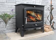 Aquaburn 12 - 12kW Woodburning Multifuel Boiler Stove Wrap-Around Boiler Jacket