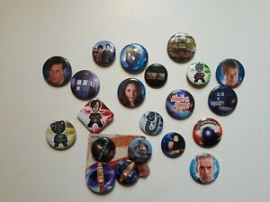Doctor Who Badges Various Small size Lot 1