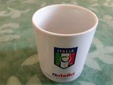 NUTELLA TAZZA COMMEMORATIVA DA COLLEZIONE  ITALIA 4 VOLTE CAMPIONE DEL MONDO