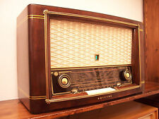 ANTICA_RADIO Philips Capella 643 Tube Radio Tuberadio Röhrenradio Restored TOP!