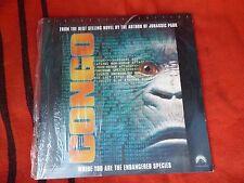 Congo Film Laser Disc Large DVD LaserDisc Original Pioneer