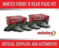 MINTEX FRONT AND REAR BRAKE PADS FOR HONDA ACCORD 2.4 SALOON (CL9) 2003-08