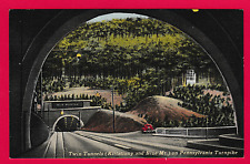 Twin Tunnels (Kittatinny and Blue Mt.) on Pennsylvania Turnpike.